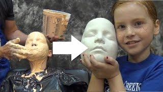getlinkyoutube.com-Lifecasting Tutorial: Accucast 590 Face Cast