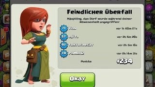 getlinkyoutube.com-Best Th 7 Hybrid Base Layout W/Defense Replay  (OLD UPDATE DOES NOT WORK ANYMORE)!!!!