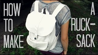 getlinkyoutube.com-How to make a Rucksack