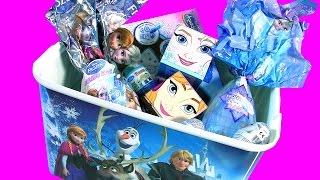 getlinkyoutube.com-Coleção Completa Brinquedos Disney Frozen Princesas Anna Elsa em Portugues Brasil Toys