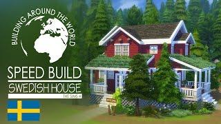 getlinkyoutube.com-The Sims 4 - Speed Build - Swedish House (Around the world)