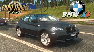 getlinkyoutube.com-Euro Truck Simulator 2 mod car BMW X6