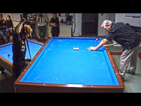 Mike Massey & Venom, Artistic Billiard (Carom table)