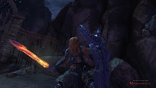 Neverwinter Gameplay online Female Oathbound Paladin Low Level PvP 2015