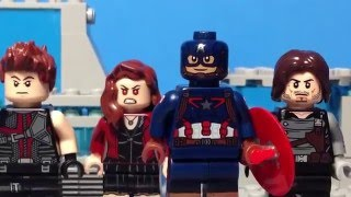 getlinkyoutube.com-Lego Captain America Civil War Trailer recreation shot for shot