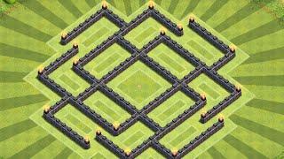 getlinkyoutube.com-Clash Of Clans - Town Hall 7 (TH7) Farming Base With DE Drill! 2015