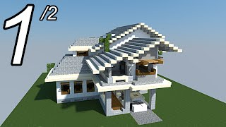 Download video minecraft tutoriel maison moderne vid o 1 2 - Belle construction minecraft tuto ...