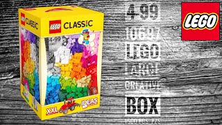 getlinkyoutube.com-LEGO Classic|10697|XL Creative Box Set Review! [Unboxing!]