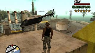 getlinkyoutube.com-GTA San Andreas как получить полицейский вертолёт