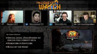 getlinkyoutube.com-Path of Exile The Lioneye's Watch Podcast #11 - HC vs SC & Meta Discussion with ZiggyD!