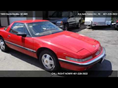 Buick Roanoke >> 1989 Buick Reatta Problems, Online Manuals and Repair Information