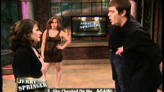getlinkyoutube.com-She Cheated On Me ... AGAIN! (The Jerry Springer Show)