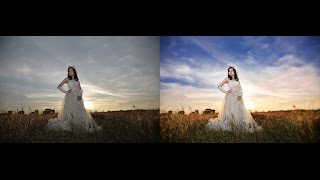 getlinkyoutube.com-Photoshop Tutorial - How To Edit Dramatic Sky