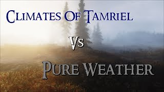 getlinkyoutube.com-Skyrim Mod Comparison - Climates Of Tamriel Vs. Pure Weather