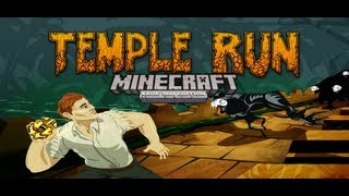 getlinkyoutube.com-Minecraft Xbox 360 Temple Run With Map Download!
