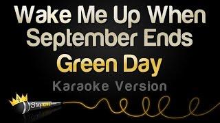 Green Day - Wake Me Up When September Ends (Karaoke Version)