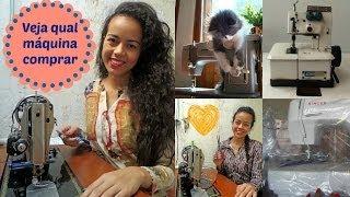 getlinkyoutube.com-Sugestões de máquinas de costura para iniciantes e avançados Alana Santos Blogger
