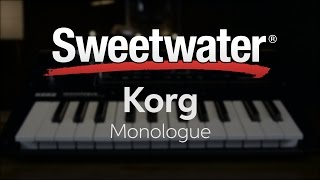Korg Monologue Analog Synthesizer Review