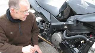 Supercharged Honda Blackbird