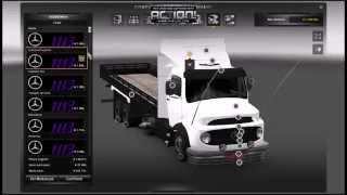 Euro truck simuleitor 2 mod mercedes  1113 standalone