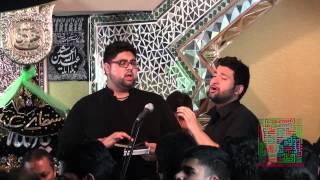 Anjumane Zulfiqar e Haidery | AZH | Ali Raza Rizvi & Farzad Moosvi | 8th Alwidai Dallas Shab e Dari