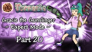 getlinkyoutube.com-Terraria 1.3.3 Expert Gunslinger Part 20 | Gracie vs Moon Lord! Vortex Beater!