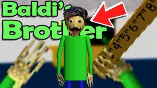 Baldi's BROTHER REVEALED?! ADVANCED MATH CLASS! - Baldi's Basics in Education and Learning Fan Game