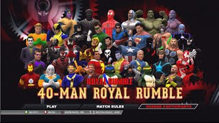 getlinkyoutube.com-40 Man Comic Book Royal Rumble WWE2K15