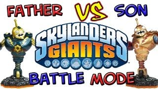getlinkyoutube.com-Skylanders Giants: Battle Mode - Part 1
