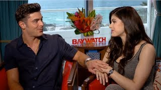 Zac Efron Can't Hide His Affection For Alexandra Daddario