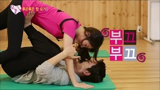 getlinkyoutube.com-【TVPP】Yura(Girl's Day) - Hot & Hot Yoga Class [2/2], 유라(걸스데이) - 후끈후끈 핫 요가 [2/2] @ We Got Married