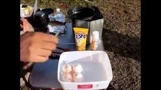 getlinkyoutube.com-バイクdeキャンプ!! ~2回目のキャンプ~ 朝食編