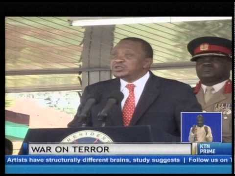 President Uhuru declares war on terror