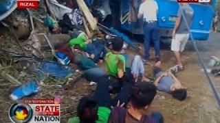getlinkyoutube.com-SONA: Field trip, nauwi sa trahedya matapos maaksidente ang isang bus na sinakyan ng mga estudyante