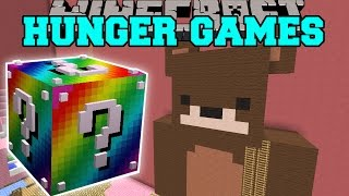 getlinkyoutube.com-Minecraft: BABY GIRLS ROOM HUNGER GAMES - Lucky Block Mod - Modded Mini-Game