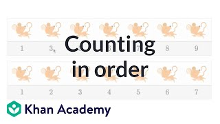 Counting in order | Counting | Early Math | Khan Academy