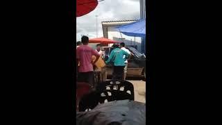 getlinkyoutube.com-พระเมา อาละวาด โดนชาวบ้านถวายหมัด