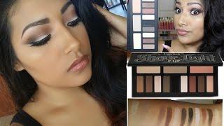 getlinkyoutube.com-NEW KAT VON D Shade + Light Eye Contour Palette Makeup Tutorial + Review + Swatches - Kat Von D