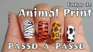 getlinkyoutube.com-Como Fazer: Unha Decorada - Especial Animal Print