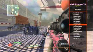 getlinkyoutube.com-MW2 Mod Menu - Project Reborn V4 - w/Download - Free Invite! Hosted By xSaaaMxMODZ