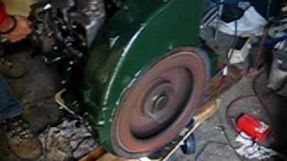 getlinkyoutube.com-First run of Lister sr2 diesel after buying pile of parts