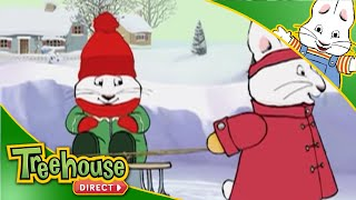 getlinkyoutube.com-Max & Ruby: Max's Christmas / Ruby's Snow Queen / Max's Rocket Run - Ep.10