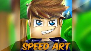 getlinkyoutube.com-Desenhando RyderCraft | Speed Art