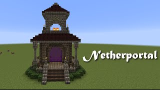 getlinkyoutube.com-Minecraft Wunschtutorial - Netherportal