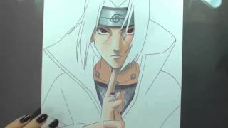 getlinkyoutube.com-Speed Drawing - Uchiha Itachi (Naruto)