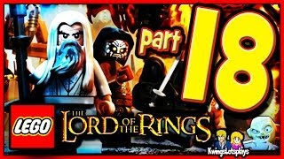 getlinkyoutube.com-Lego the Lord of the Rings - Walkthrough Part 18 Mount Doom & Ending