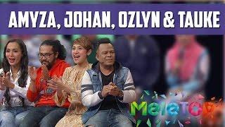 MeleTOP: Johan & Ozlynn Tak Sabar Nak Lawan Dalam Super Spontan Superstar Ep194 [2.8.2016]
