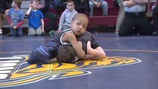 getlinkyoutube.com-Legless wrestling champ Isaiah Bird, 6, inspires others