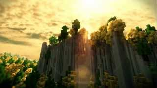 "getlinkyoutube.com-""Natural World"" - Minecraft Cinematic (Real Clouds + SummerFields)"