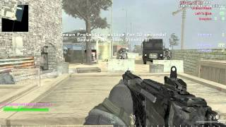 getlinkyoutube.com-Cod 4 Zombies on Shipment 1,000 Killstreak AC130 ownage